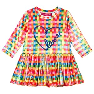 Image of Agatha Ruiz de la Prada Print and Pleated Kjole Lyserød 6 år (1601031)