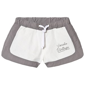 Image of Tocoto Vintage Bicolor Swim Trunk With Tocoto Vintage Print Grey 10 år (1723815)