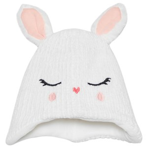 Image of Catimini Bunny Ears Lurex Knit Hat Hvid 44 (6-9 months) (1624500)