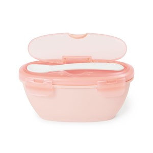 Image of Skip Hop EasyServe Bowl&Spoon Grey Soft Coral one size (1718767)