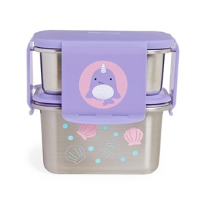 Image of Skip Hop Zoo Steel Lunch Kit Narwhal one size (1718780)