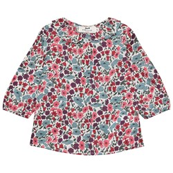 Cyrillus Leila Floral Blouse Liberty Poppy And Daisy
