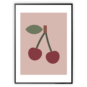 Image of XO Posters Cherry 30 x 40 Plakat One Size (1647001)