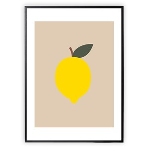 Image of XO Posters Lemon 30 x 40 Poster One Size (1647004)