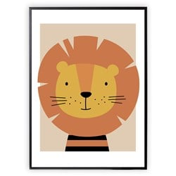 XO Posters Lion 30 x 40 Poster