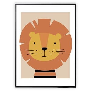 Image of XO Posters Lion 30 x 40 Plakat One Size (1647005)