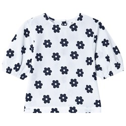 Wynken Ayers Floral Top White