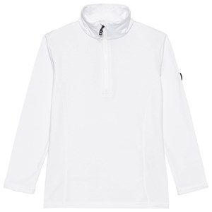 Image of Bogner Ida 1/2 Zip Basislag Hvidt ML (8-9 years) (1671769)