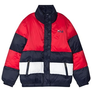 Image of Fila Betty Colorblock Dunjakke Navyblå 134-140cm (9-10 years) (1669556)