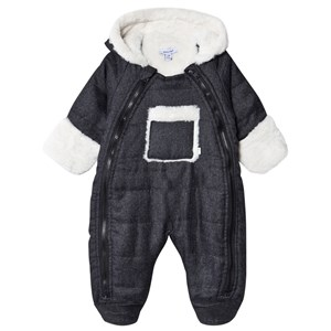 Image of Absorba Faux Fur Coverall Dark gray melange 18 mdr (1623444)
