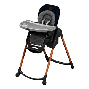Image of Maxi-Cosi Minla Høj Stol Essential Blue One Size (1735759)
