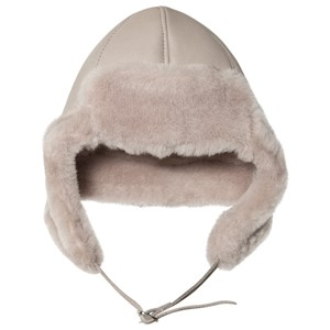 Image of Little Jalo Lambskin Hat Taupe 44/46 cm (1630713)