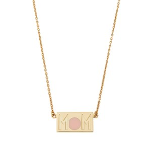 Design Letters MOM Necklace Halsband Guld one size