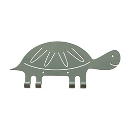 Marnelly Turtle Wall Hook Green