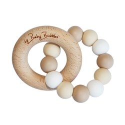 by Baby bubbles Teether Toasted Marshmallows