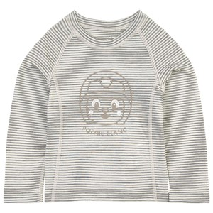 Image of Poivre Blanc Stripe Baselayer Top Grå 7 år (1672027)