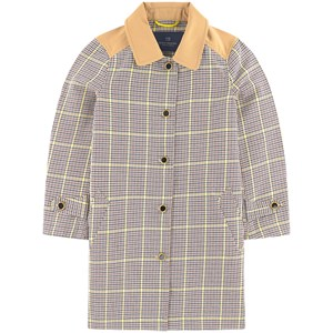 Image of Scotch & Soda Check Trenchcoat Brown 10 år (1715190)