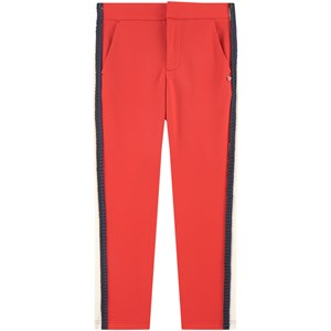 Image of Scotch & Soda Braided Pants Red 10 år (1714406)