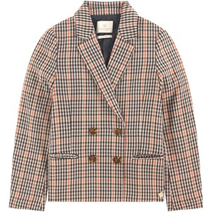 Image of Scotch & Soda Check Suit Jacket Brown 10 år (1683191)
