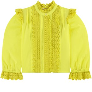 Image of Scotch & Soda Broderie Anglaise Blouse Yellow 10 år (1683215)
