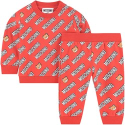Moschino Kid-Teen Sweatshirt Set Red