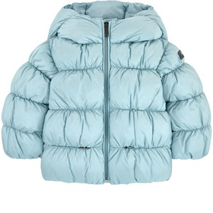 Image of Il Gufo Down And Feather Coat Blue (1720847)