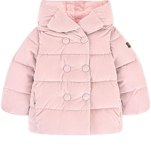 Image of Il Gufo Velvet Down Jacket Pink 4 years (1744503)