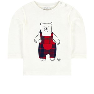 Image of Il Gufo Bear Baby T-Shirt White 12 mdr (1701056)