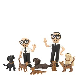 Dolce & Gabbana D&G Family Figurines