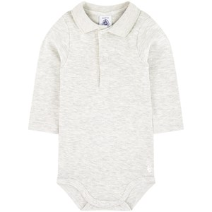 Image of Petit Bateau Onesies with a collar 3 mdr (1704851)