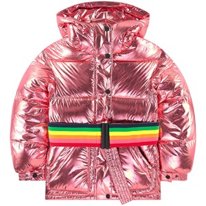 Image of Perfect Moment Oversized Metallic Ski Jacket Pink 12 år (1691875)
