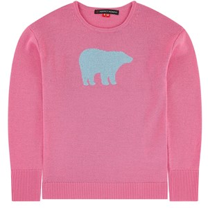 Image of Perfect Moment Merino Knitted Sweater Pink 8 år (1708818)