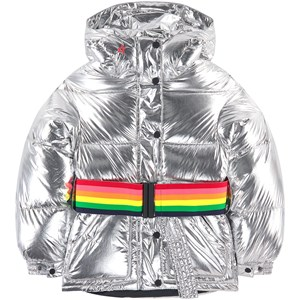 Image of Perfect Moment Oversized Metallic Ski Jacket Silver 12 år (1691880)