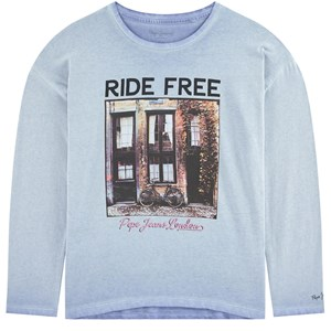 Image of Pepe Jeans Bicycle T-Shirt Blue (1695780)