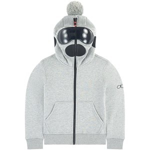 Image of AI Riders on the Storm Zipped sweatshirt with built-in goggles 10 år (1706555)