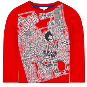 Image of The Marc Jacobs The Marc Jacobs Comics Factory T-Shirt Red 4 år (1704450)