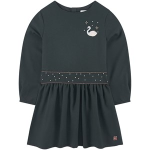 Image of Carrément Beau Embroidered Dress Black 3 år (1717013)