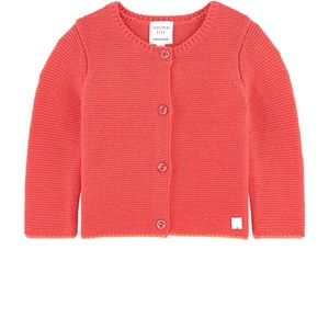 Image of Carrément Beau Knitted Cardigan Coral 12 mdr (1707492)