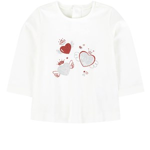 Image of Mayoral Heart T-Shirt White 6 mdr (1704653)