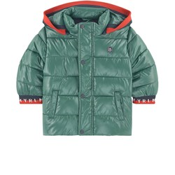 Mayoral Padded Puffer Jacket Green