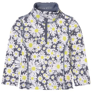 Image of Poivre Blanc Floral Baselayer Top Grå 6 år (1672012)
