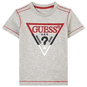 Image of Guess Embroidered T-shirt Grå 2 år (1626332)