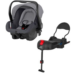 Britax Primo Infant Carrier Storm Grey Base Black