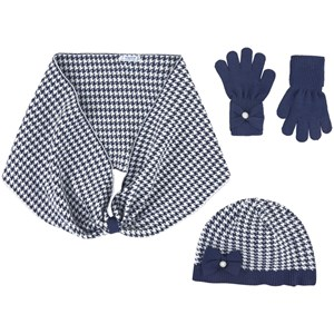 Image of Mayoral 3-piece Hat Set Navy 12 år (1685100)