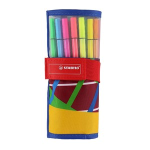 Image of STABILO Pen 68 25-pack Rolerset 9 months - 3 years (1673905)