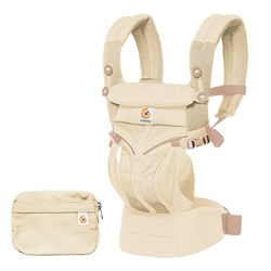 Ergobaby Omni 360 Cool Air Mesh Baby Carrier Natural Weave