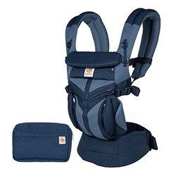 Ergobaby Omni 360 Cool Air Mesh Baby Carrier Tones of Blue