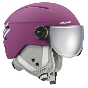 Image of Cébé Fireball Visor Skihjelm Matt Purple 49-51cm (1597799)