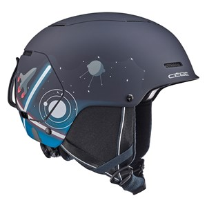 Image of Cébé Black Space Bow Ski Helmet 48-51cm (1597812)