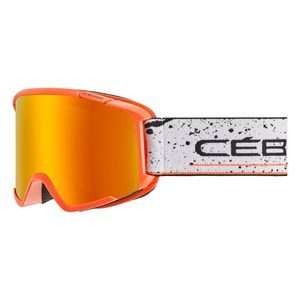 Image of Cébé Orange & White Intrepid Ski Goggles Small-Medium (1597814)